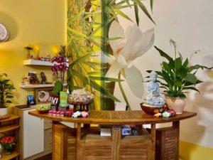 EIngangsbereich Thai Massage Praxis